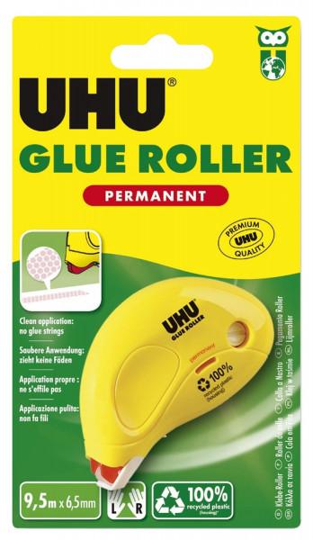 UHU® Einwegkleberoller DRY & CLEAN - permanent, 8,5 m x 6,5 mm