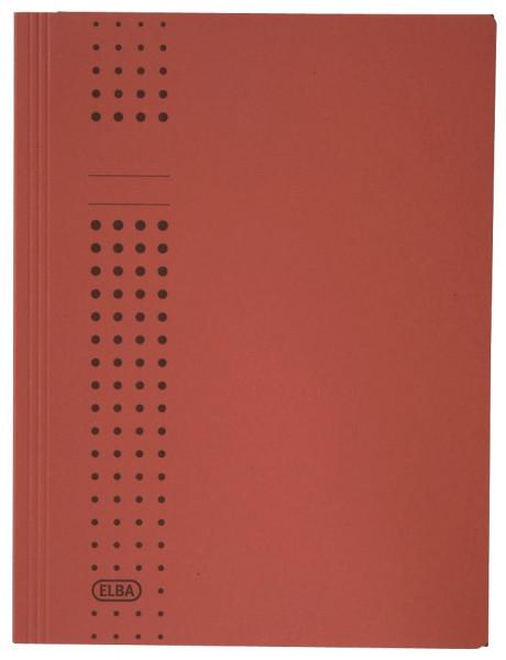Sammelmappe chic, Karton (RC), 320 g/qm, A4, 10 mm, rot