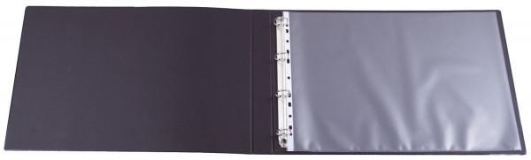 Q-Connect Prospekthülle A3 quer 80mym genarbt, 10 Stück