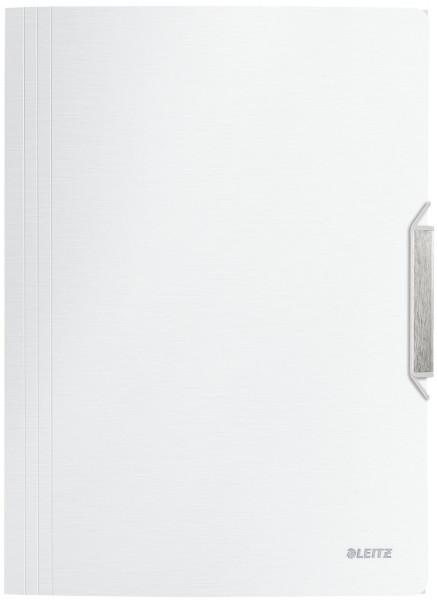 3977 Eckspannermappe Style, A4, PP, arktiks weiß