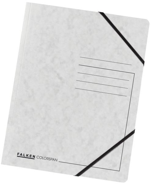 Falken Eckspanner A4 Colorspan intensiv weiß, Karton 355 g/qm