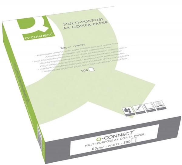 Q-Connect Kopierpapier ECF A4, 80 g/qm, 500 Blatt