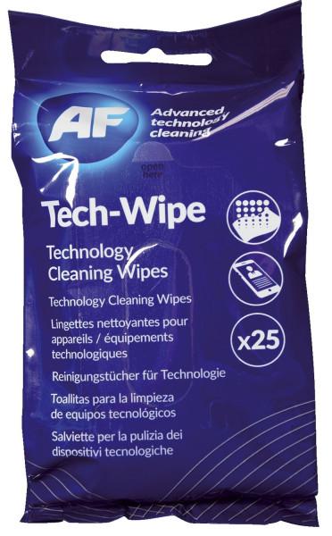 Reinigungstuch Tech Wipes - 25 Stück, feucht