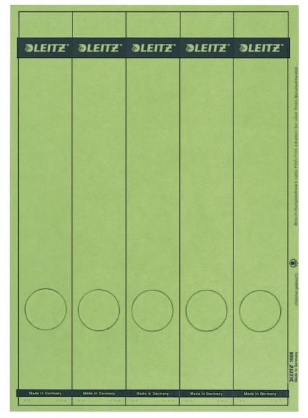 1688 PC-beschriftbare Rückenschilder - Papier, lang/schmal, 125 Stück, rot