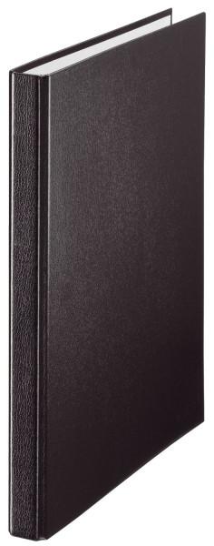 4209 Standard Ringbuch, 2 Ringe - A4, Ring-Ø 16 mm, schwarz