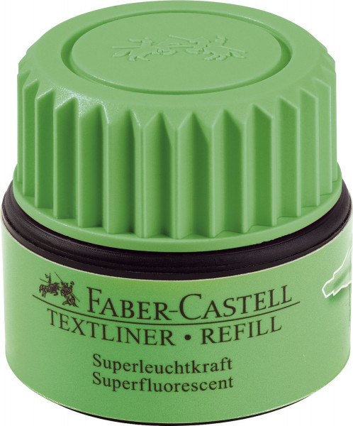 Faber-Castell 1549 Nachfülltinte grün AUTOMATIC REFILL - 30 ml