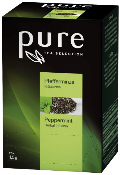 Tschibo Tea Selection - Pfefferminz 25 Beutel