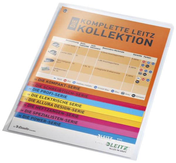 Leitz 4155 Sichthülle Super Premium, A5, PVC, dokumentenecht, farblos