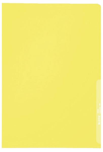 Leitz 4000 Standard Sichthülle gelb, A4, PP-Folie, genarbt,,0,13 mm
