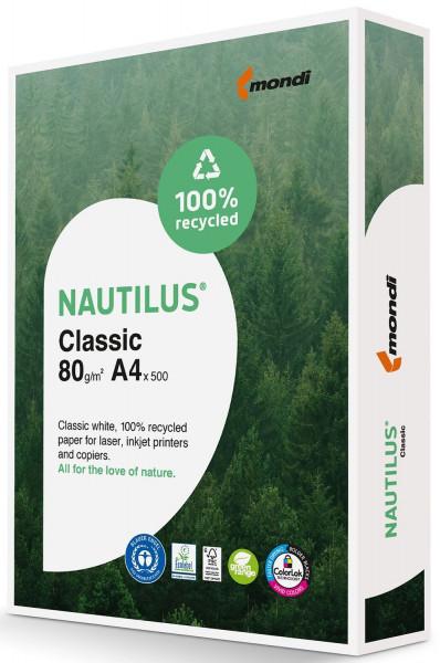 Mondi NAUTILUS Classic - A4, 80 g/qm, weiß, 500 Blatt