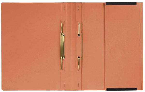 Kanzleihefter A gefalzt - Linksheftung (Behördenheftung), 1 Tasche, 2 Abheftvorrichtung, orange