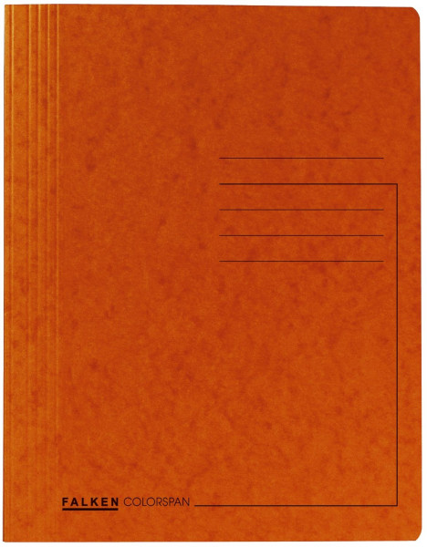 Spiralhefter Colorspankarton - für DIN A4, orange