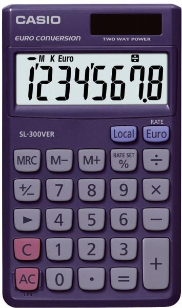 Casio® Taschenrechner SL-300VER, Solar- und Batteriebetrieb, 70 x 118,5 x 7,5 mm
