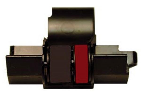 Casio® IR40T Farbrolle für Tischrechner HR-xxx, schwarz/rot