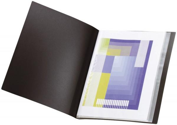 Q-Connect Sichtbuch - A3, 20 Hüllen, schwarz