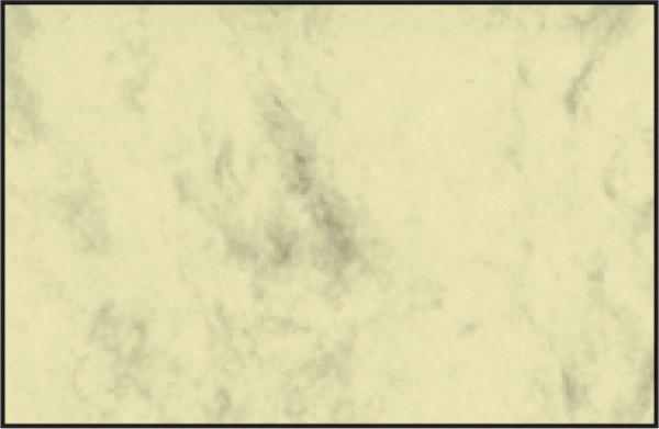 Visitenkarten, 3C, glatter Schnitt rundum, 225 g/qm, beidseitig Marmor beige, 100 Stück