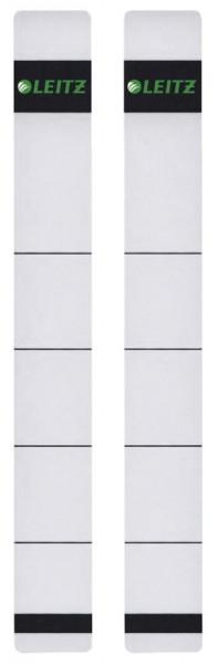 1646 Rückenschilder - extra schmal/kurz, 23 x 192 mm, hellgrau