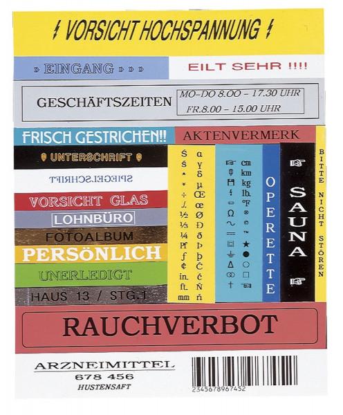 Brother® TC 101 Schriftbandkassetten, laminiert, 12 mm x 7,7 m, schwarz auf farblos