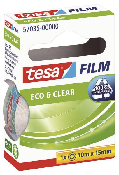 Tesa® 57035 Eco & Clear 15mm x 10m unsichtbar,