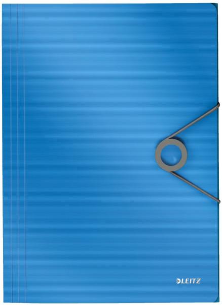 4563 Dreiflügelmappe Solid - A4, PP, hellblau
