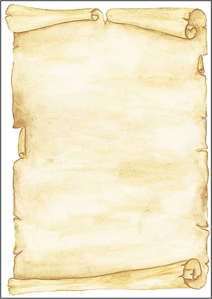 Motiv-Papier, Pergament, A4, 90 g/qm, 50 Blatt
