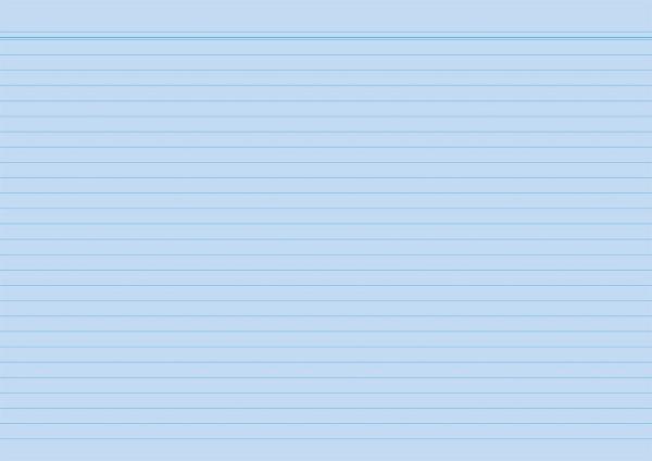 RNK Karteikarten, A4, liniert, blau, 100 Karten
