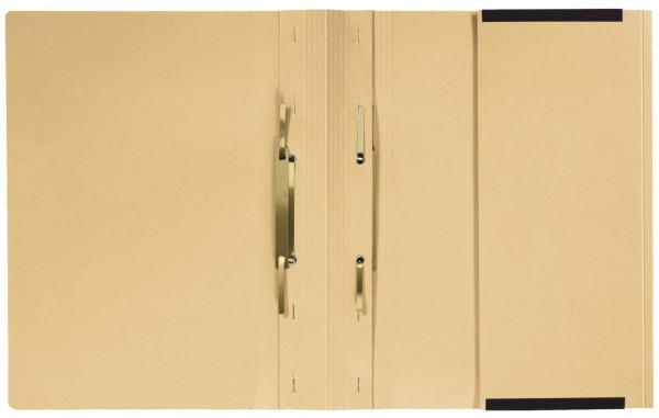 Kanzleihefter A gefalzt - Linksheftung (Behördenheftung), 1 Tasche, 2 Abheftvorrichtung, chamois