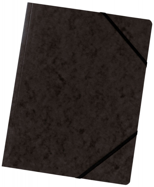 Falken Eckspanner A4 Colorspan intensiv schwarz, Karton 355 g/qm