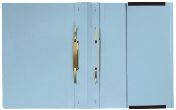 Kanzleihefter A gefalzt - Linksheftung (Behördenheftung), 1 Tasche, 2 Abheftvorrichtung, hellblau