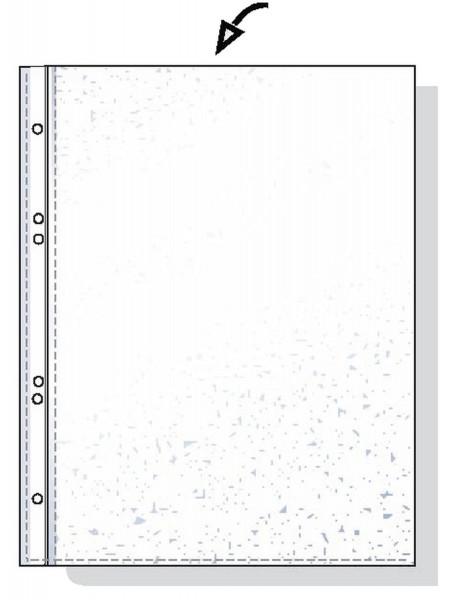 Esselte 56171 Prospekthüllen A4 genarbt, 0,05 mm, 100 Stück