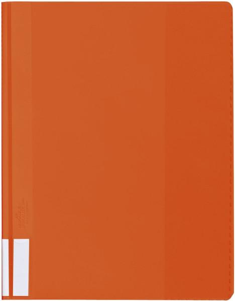 Durable Sichthefter DURALUX®, orange A4 überbreit transparenter Deckel, Hartfolie