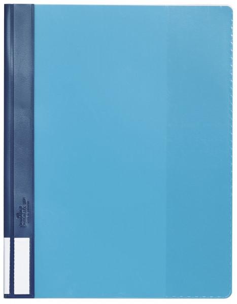 Durable Sichthefter DURALUX®, blau A4 überbreit, transparenter Deckel, Hartfolie
