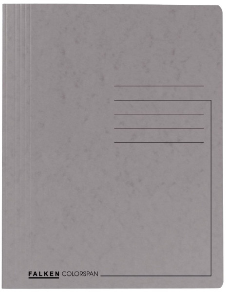 Spiralhefter Colorspankarton - für DIN A4, grau