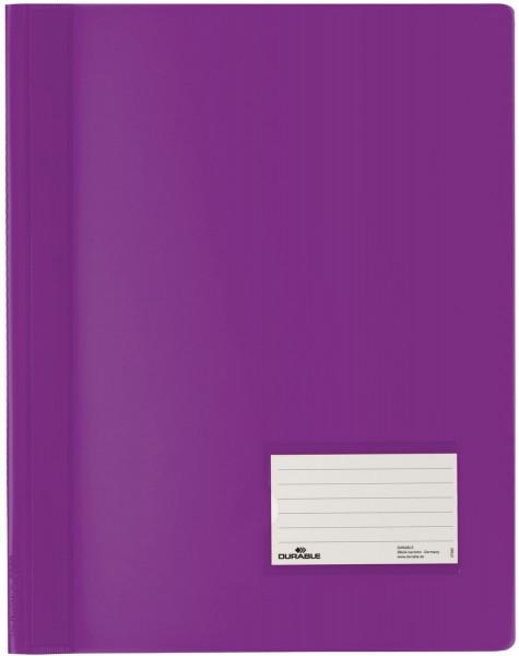 Schnellhefter DURALUX® - transluzente Folie, für A4 Überbreit, lila