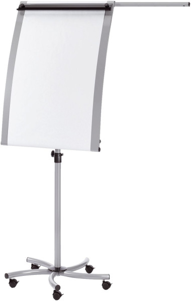 Flipchart EuroLine Mobil - silber, Tafelgröße 70 x 103 cm