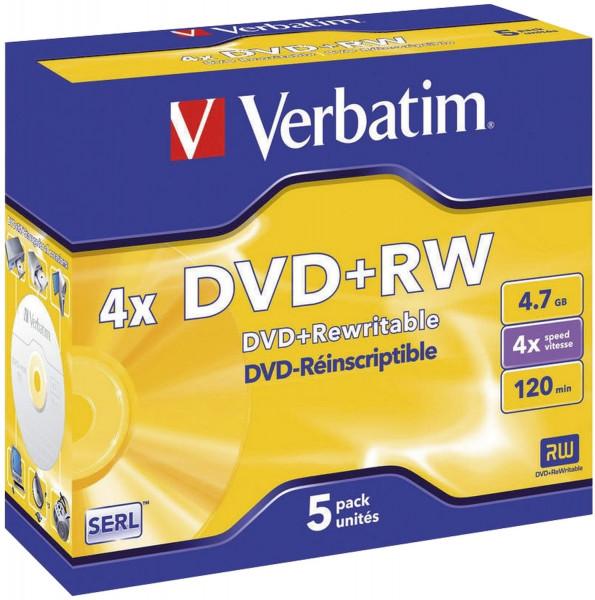 DVD+RW Matt Silver 4x