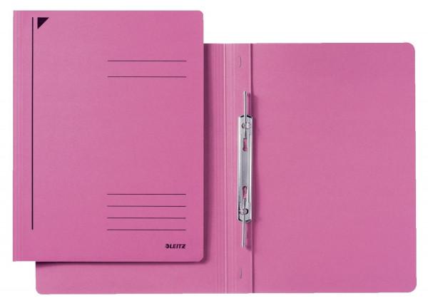3040 Spiralhefter, A4, kfm. Heftung, Colorspankarton, pink