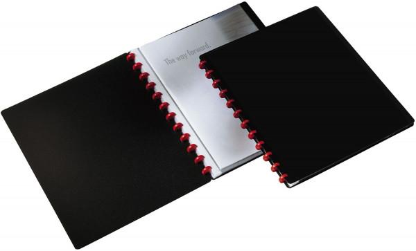 Durable Ringmappe DURALOOK® EASY - 20 Hüllen, A4, schwarz