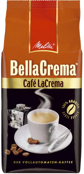 Melitta® Kaffeebohnen BellaCrema® CAFÈ - LaCrema 1000g