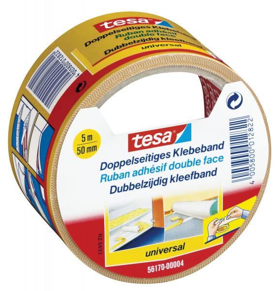 Tesa® 56170 Klebeband doppelseitig 5 m x 50 mm universal