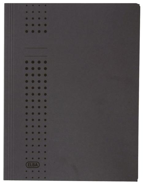 Sammelmappe chic, Karton (RC), 320 g/qm, A4, 10 mm, anthrazit