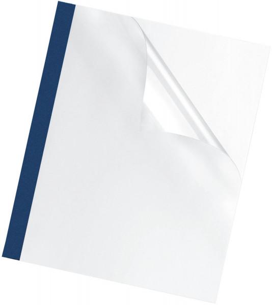 Thermobindemappe Prestige - 3 mm, blau, 100 Stück