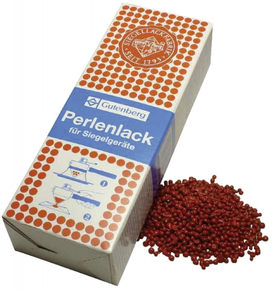 Perllack 500 g, zinnoberrot für Elektro-Schnellsiegler