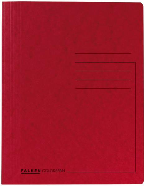 Spiralhefter Colorspankarton - für DIN A4, rot