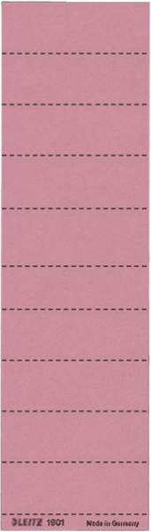 1901 Blanko-Schildchen 1901, Karton, 100 Stück, rot