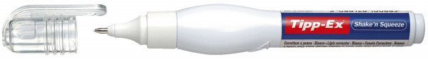 Tipp-Ex® Korrekturstift Shake´n Squeeze, 8 ml, weiß