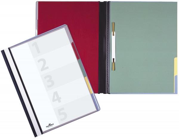 Organisationshefter DIVISOFLEX® 5faches farbiges Register, blau