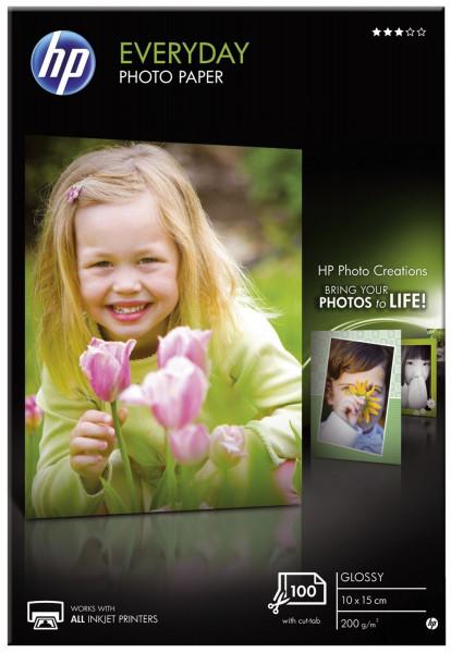 Fotopapier Standard - A4, glänzend, 200 g/qm, 100 Blatt