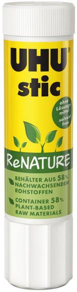 UHU® Klebestift 21g stic ReNATURE ohne Lösungsmittel