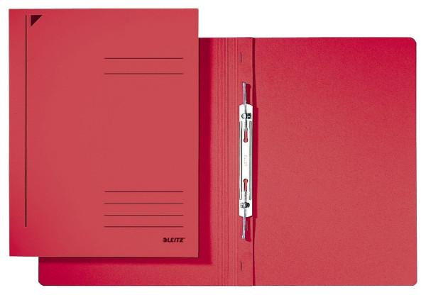 3040 Spiralhefter, A4, kfm. Heftung, Colorspankarton, rot